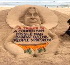 Sudarsan Pattnaik pays tribute to Kalam