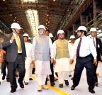 Rourkela: Modi visits the Rourkela Steel Plant