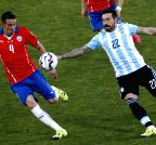 Santiago de Chile: Chile V/S Argentina - Copa America 2015 final soccer match