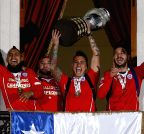 Santiago de Chile: CHILE WINS THE COPA AMERICA 2015