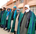 Sarpul (Afghanistan): Taliban fighters surrender ceremony