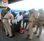 Security beefed-up at Nampally Hyderabad station