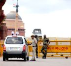 Security beefed-up in New Delhi