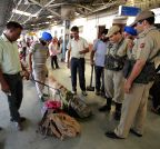 Security stepped-up at Jammu railway station