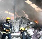 CHINA-SHANGHAI-FACTORY-FIRE