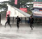 Shimla: Hailstorms hit Shimla