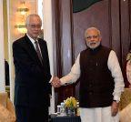 Singapore: Former Singapore PM calls on Modi