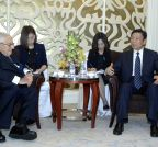 SINGAPORE-CHINA-LI YUANCHAO-U.S.-HENRY KISSINGER-MEETING