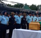 Shillong: Last respect to former President APJ Abdul Kalam