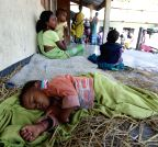 Sonitpur: Villagers take refuge in makeshift relief camps