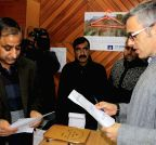 Srinagar: Omar Abdullah files nomination papers for assembly poll