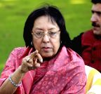 Srinagar: Najma Heptulla`s press conference