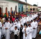 Suchitoto: Children celebrate their First Eucharist
