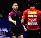 CHINA-SUZHOU-TABLE TENNIS-WORLD CHAMPIONSHIPS-MEN'S SINGLES-SEMIFINAL