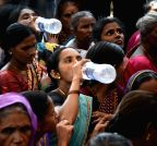 Mumbai: Mumbai Port Trust Jhopadpatti Bachao Samiti  demonstration