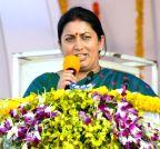 Chittoor: Smriti Irani lays foundation stone of IIIT Chittoor, IIT Tirupati
