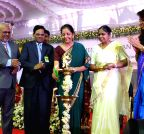 Nirmala Sitharaman at the centenary celebration of Women`s Christian College