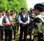 Mizoram: Rijiju visits Kawrpuichhuah,