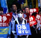 JAPAN-TOKYO-SECURITY LEGISLATION-PROTEST