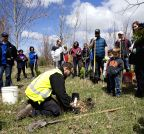 CANADA-TORONTO-EARTH DAY-TREE PLANTING