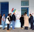 Tunis (Tunisia): Tunisian voters went to polls to elect the country`s first president