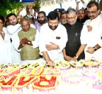 Ramvilas Paswan celebrates his 69th birthday