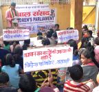 Varanasi: Children's Parliament condemns attack on Peshawar school