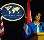 U.S.-WASHINGTON D.C.-CUBA-DIPLOMATIC RELATIONS-PRESS CONFERENCE