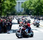 US-WASHINGTON-MEMORIAL DAY-ROLLING THUNDER