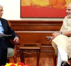 New Delhi: WIPRO Chairman calls on PM Modi