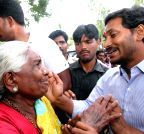 Anantapur: YS Jaganmohan Reddy during a public rally