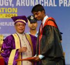 Yupia: President Mukherjee at the First Convocation of NIT Arunachal Pradesh