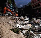 NEPAL-CHINA-TRAFFIC RESCUE