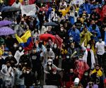 46 injured during violent protests in Colombia