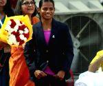 Dutee Chand at Indian Speedstar