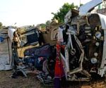 12 killed as truck falls into gorge in UP