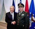U.S. CHINA HAGEL CHANG WANQUAN MEETING