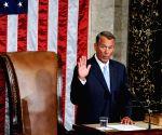 U.S. WASHINGTON D.C. CONGRESS HOUSE SPEAKER JOHN BOEHNER