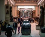 EGYPT CAIRO MUSEUM TUTANKHAMUN MASK