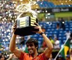 BRAZIL SAO PAULO TENNIS OPEN