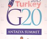 TURKEY ANTALYA G20 WELCOMING CEREMONY
