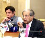 N. K. Singh's press conference