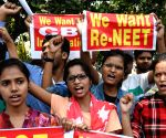 ​Patna: NEET candidates demand re-exam