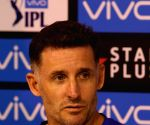Hussey tests negative, may fly home next week