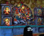25 pally Durga Puja Pandal
