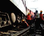 3 injured after train derails near Kanpur