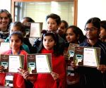 Budding talent: Filmmaking gives freedom and confidence to young girls
