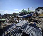 6.1-magnitude quake in Indonesia triggers small tsunami, damages houses