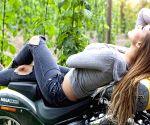 Free Photo: 5 Female Motorcycle Riders 'Braking' Stereotypes