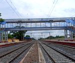 Free Photo: 69 km rail line doubling completed in AP's central-coastal belt.
